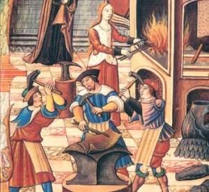 Medieval guildsmen